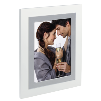 "hama Porträtrahmen ""Valdez"", Silber, 10 x 15 cm"