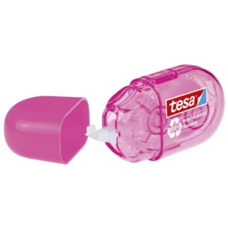 tesa Mini Korrekturroller ecoLogo/59815-00000-00 6m x 5mm pink