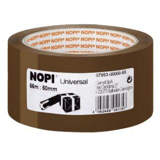 1 Rolle NOPI Verpackungsklebeband Universal, 50 mm x 66 m, braun