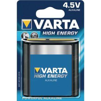 Varta HIGH ENERGY 4.5V 1er Blister MHD 2023