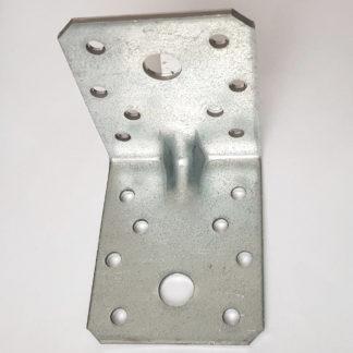 GAH Alberts Schwerlast-Winkelverbinder Sicke 70x70x55mm Stärke 2,5mm Löcher 2/16