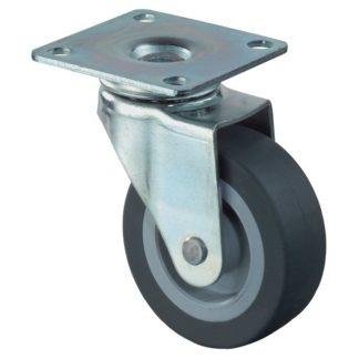 BS Rollen Lenkrolle F26.025 ohne Feststeller Rad 25 mm, Platte 34 x 48 mm