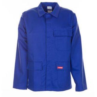PLANAM Hitze- Schweißerschutz-Jacke 400 Größe 58 kornblau 100% CO 1 St. 1706058