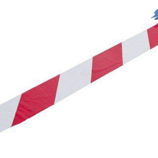 BGS Absperr-Band Rot Weiß 80 mm x 50 m