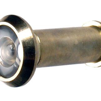 BGS Türspion   Messing poliert   Ø 14 mm 8090  für Türblätter von 35 – 57 mm