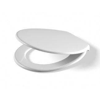 """TOTO Pagette WC-Sitz """"RONDO NEU"""" mit Deckel, mit Metall-Absenkautomatik pergamon"""