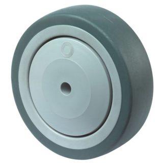 BS Rollen Gummirad A85.101 100 mm  thermoplastische Gummibereifung Kugellager